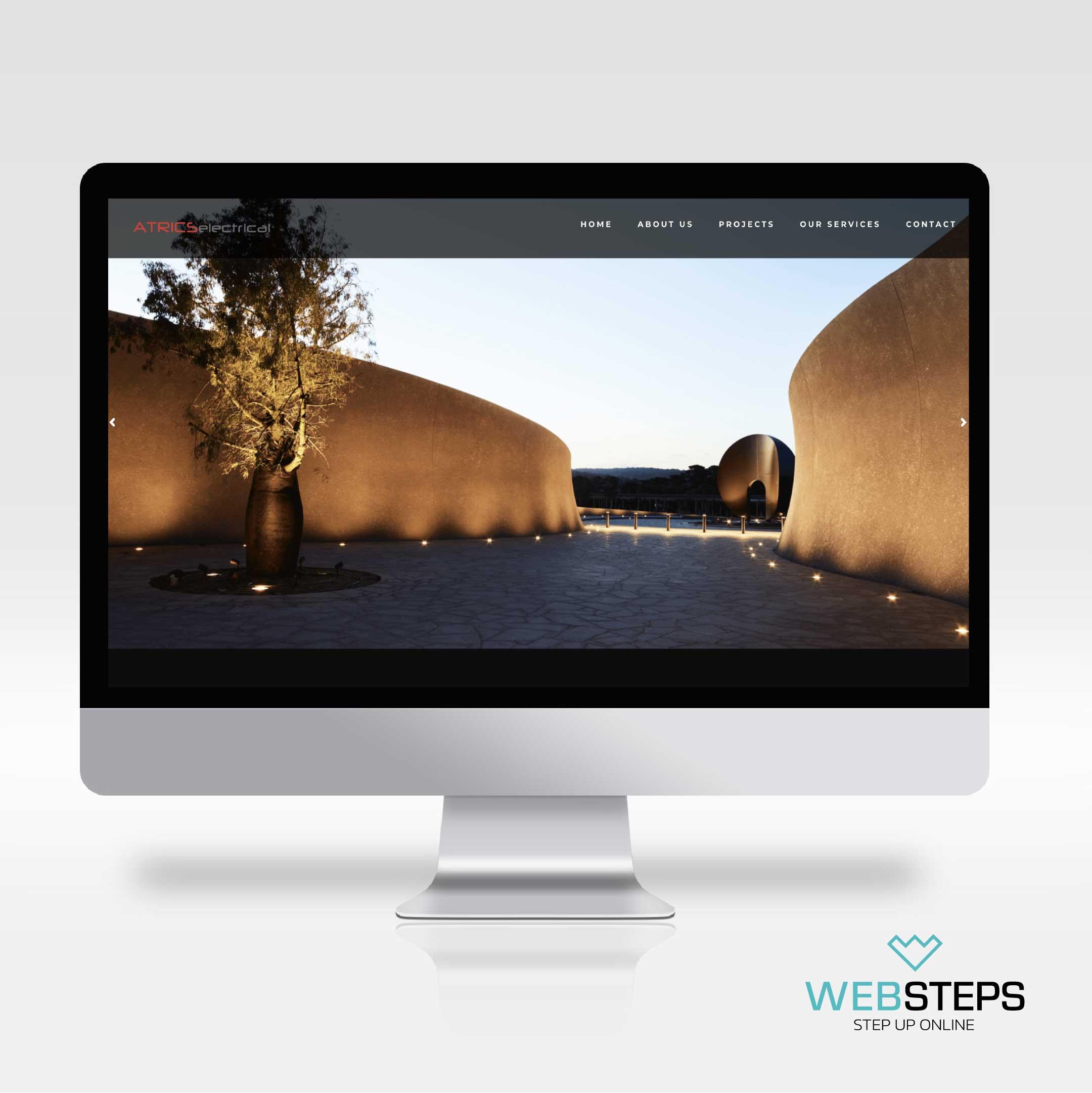 websteps-atrics-website